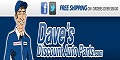 Daves Auto Parts.com coupons