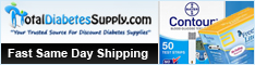 Great Savings Of 50% & More & Free Shipping On All Orders Over $99 On The Most Popular Diabetes Supplies Now At TotalDiabetesSupply.com!