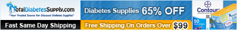 TotalDiabetesSupply.com -  Discount Diabetes Supplies, Direct To You!