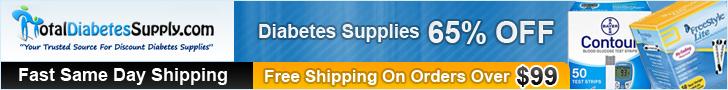 TotalDiabetesSupply.com -  Discount Diabetes Supplies, Direct To You!