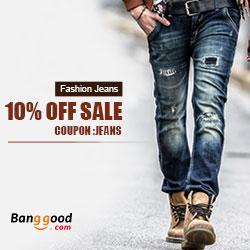 Men's Jeans Promotion, coupon code: jeans.