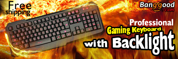 Professional Gaming Keyboard with Backlight