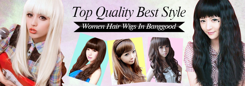 Fashion and Colorful Hair Wigs