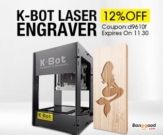 Only $79.19 for K-Bot V3 DIY Laser Engraver Printer