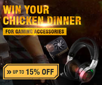 15% OFF Coupon for Mechanical Gaming Accessories