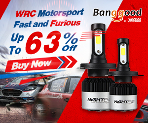 Up to 63% OFF for WRC Automobile Parts & Accessories Promotion