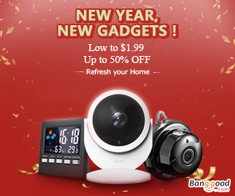 Happy New Year!!! Up to 60% OFF for Home&Garden Products with Extra 20% OFF Coupon