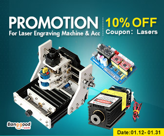 10% OFF for Laser Engraving Machine & Acc