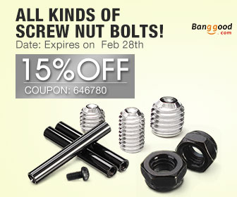 15% OFF for All Kinds of Screw Nut Bolts