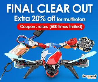 20% OFF for RC Multi Rotors