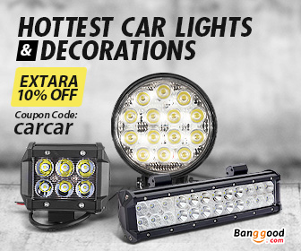 10% OFF for Car Lights & Decorations