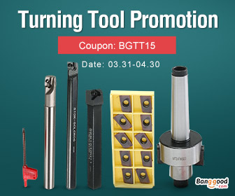 15% OFF for Turning Tool Promotion
