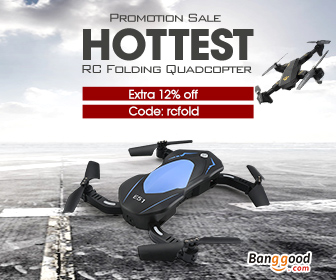 12% OFF for RC Folding Quadcopters
