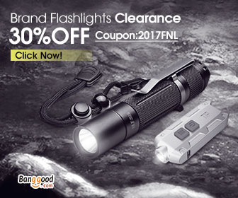 30% OFF Clearance for Falshlights