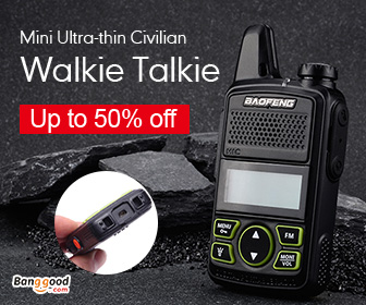 Extra 12% OFF for Walkie-talkies Promotion