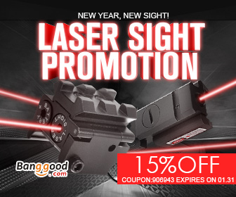 Up to 55% OFF for Laser Sight with Extra 15% OFF Coupon