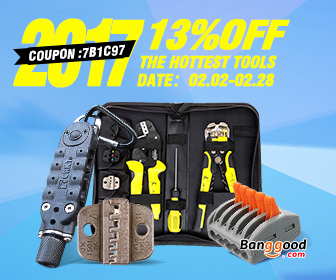 13% OFF Promotion for Tools & Electrical Equipment