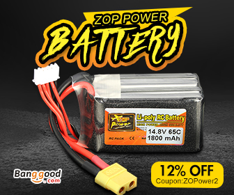 12% OFF for RC ZOP Power Battery