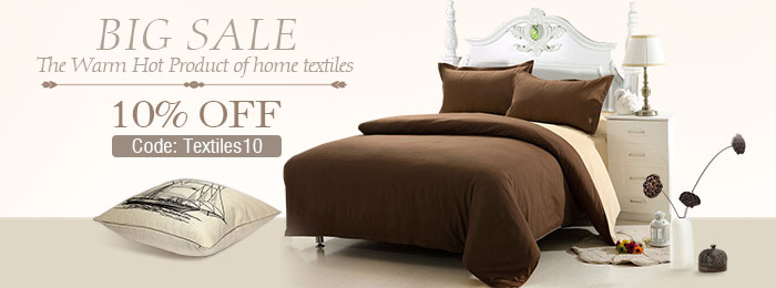10% OFF for ALL Home Textile Products