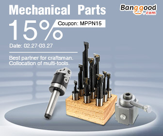 15% OFF for Eletronics Mechanical Parts