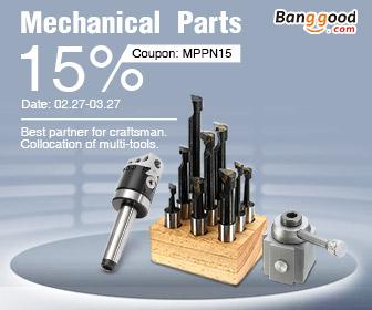 15% OFF cho bộ phận cơ khí Eletronics từ CÔNG TY TNHH CÔNG NGHỆ BANGGOOD