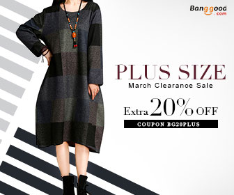 20% OFF for Women's Plus Size Clothing