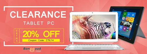 20% OFF for ALL Tablet PC