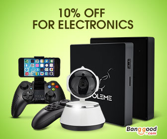 10% OFF Electronics Promotion in US Warehouse