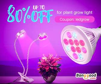 Up to 80% OFF for Plant Growing Lights with Extra 8% OFF Coupon