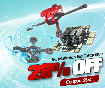 28% OFF Coupon for RC Multirotors