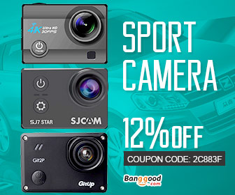 12% OFF for Sport Camera