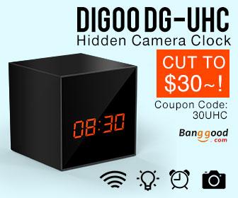 $30 OFF Digoo DG-UHC Wireless USB WIFI HD Smart Security Hidden Camera