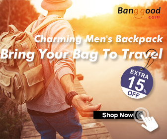 15% OFF for Spring Travel Men's Backpack