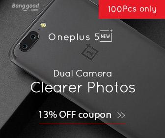 13% OFF OnePlus 5 5.5 inch 6GB RAM 64GB ROM 4G Smartphone