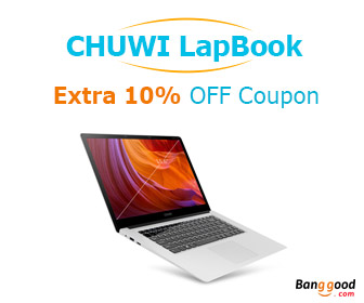 10% OFF CHUWI LapBook 15.6 inch Windows 10 4GB/64GB Intel
