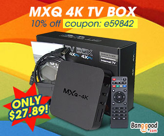 Only $27.89 for MXQ 4K TV Box -  US Direct
