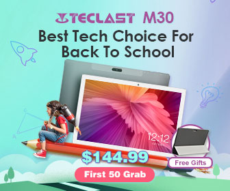 Only $144.99 Teclast M30 4G RAM 128G ROM Android 8.0 Tablet PC