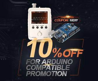10% OFF for Arduino Compatible & 3D Printer Supplies