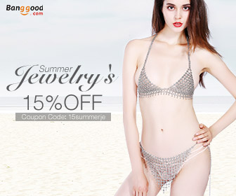 15% OFF for Summer-Style Jewelrys