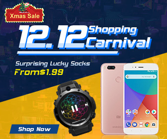 Double 12 Carnival! 12% OFF Coupon for All Categories