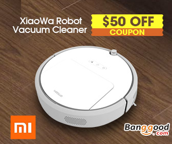 Only $238.88 Xiaomi XiaoWa New Smart Robot Vacuum Cleaner