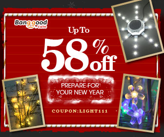 15% OFF LED Lighting Promotion for New Year