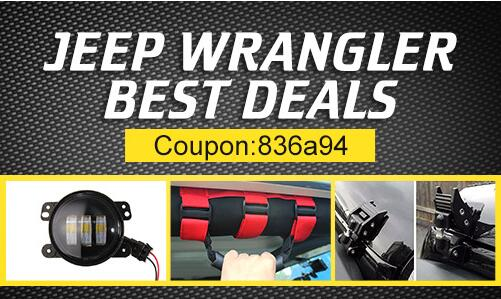 20% OFF for Wrangler Car Accessories Collection