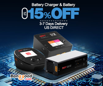 15% OFF For Chargers & Batteries