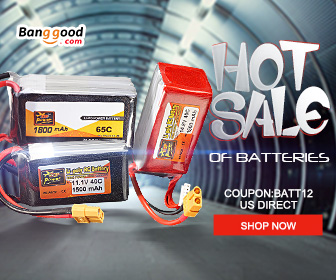 Up to 54% OFF for RC Batteries with Extra 12% OFF Coupon