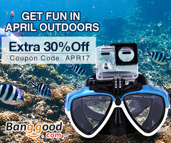 30% OFF for Outdoor Gears & Water Sports