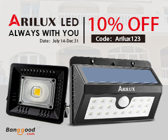 10% OFF for Arilux LED & Lightings
