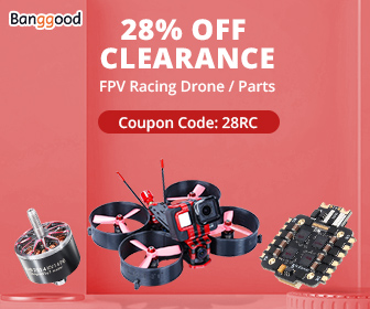 banggood.com - 28% OFF Clerance for FPV Racing Drone / Parts