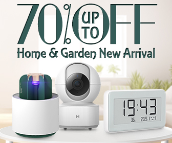 18% OFF Coupon for Home & Garden from BANGGOOD TECHNOLOGY CO., LIMITED