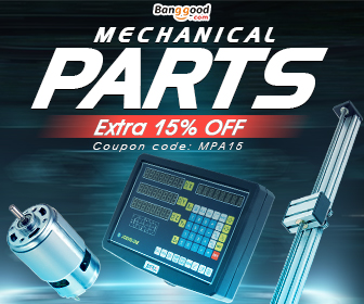 15% OFF Coupon for Electronics Mechanical Parts